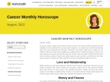 Free Monthly Horoscope for Cancer – Astrotalk