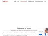 Asus router login guide using by router.asus.com