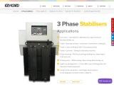 3 Phase Stabiliser Manufacturers – India's No.1 Brand – KRYKARD