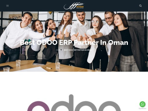 Best Odoo ERP Partner in Oman – Atheer Global Solutions