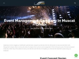 Event Management Company in Muscat