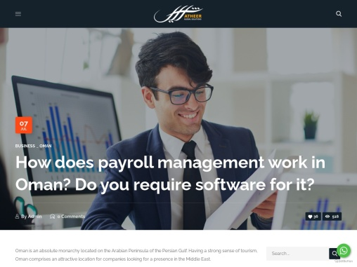 How does payroll management work in Oman? Do you require software for it?