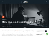 How Real is a Cloud Based ERP – Atheer Global Solutions