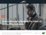 How to Managing Budgets for Odoo 14 Accounting Software