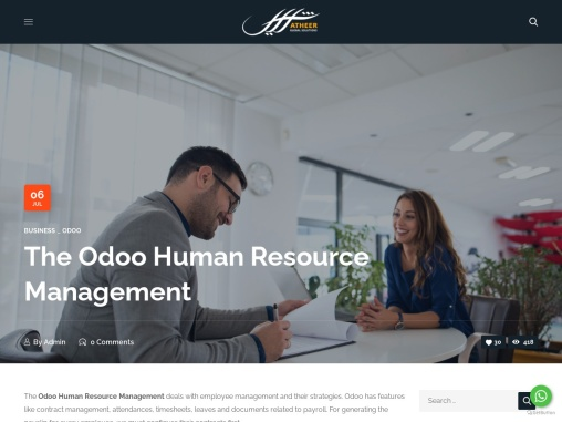 The Odoo Human Resource Management
