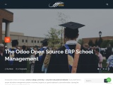 The Odoo Open Source ERP School Management