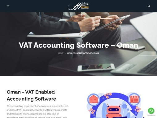VAT Accounting Software – Atheer Global Solutions