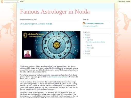 Top Astrologer in Greater Noida