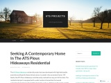 Seeking A Contemporary Home In The ATS Pious Hideaways Residential