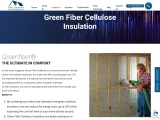Green Fiber Cellulose,Greenfiber® THE ULTIMATE IN COMFORT