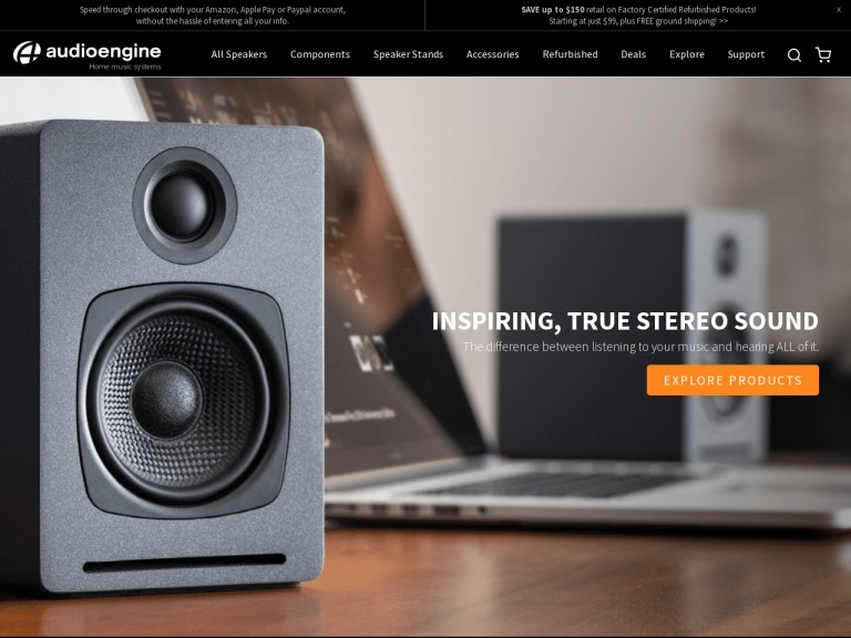Audioengine Coupon Codes & Promo codes