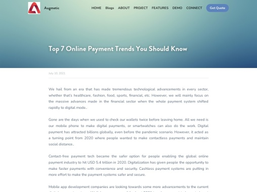 Top 7 Online Payment Trends You Should Know