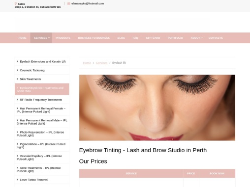 The Best Lash And Brow Studio In Perth