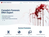 Canada's Forensic DNA Expert – Aurora Forensics