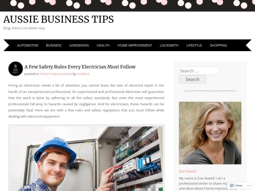 A Few Safety Rules Every Electrician Must Follow