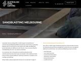 Get Dustless Sandblasting | 1300 807 379 | Australian Steel Coating