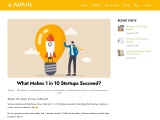 What Makes 1 in 10 Startups Succeed?