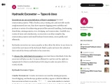 Choose The Right Hydraulic Excavator