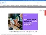 Great Way to Develop Business by Cloud Mobile Application