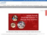 Mobile Friendly Cloud ERP software for SMBs