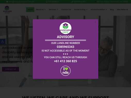AvocadoCare | Disability Support Services in Victoria.