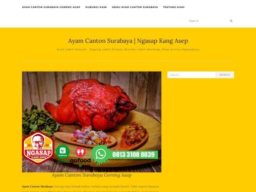 Ayam Canton Surabaya – Khas Aroma Ngasapnya