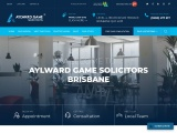 WELCOME TO AYLWARD GAME SOLICITORS BRISBANE