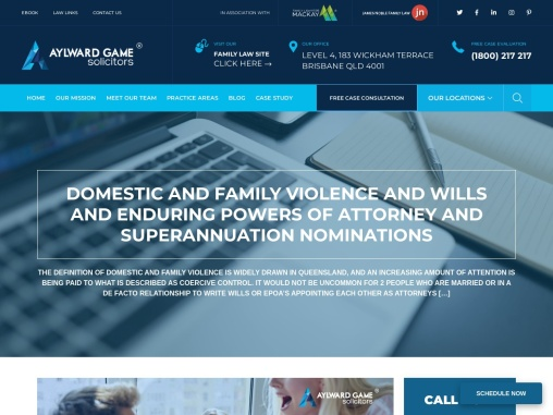 Domestic and Family Violence and Wills and Enduring Powers of Attorney and Superannuation Nomination