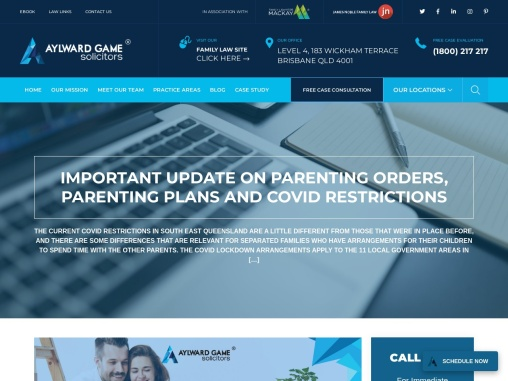 Important Update On Parenting Orders, Parenting Plans and COVID Restrictions