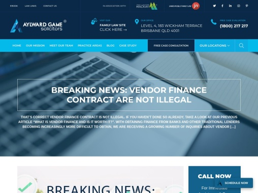 BREAKING NEWS: VENDOR FINANCE CONTRACT ARE NOT ILLEGAL
