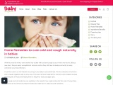 Cough and cold relief for kids