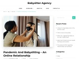 Pandemic and babysitting – An online relationship