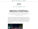 Baghaan Resort – Corporate Event – Wedding Venue – Pet Friendly Resort – Anniversary Celebration