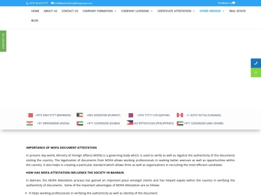 Ministry of foreign affairs birth certificate attestation