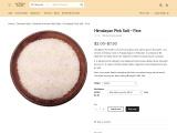 HIMALAYAN PINK SALT – FINE | Baker and Baker Salt