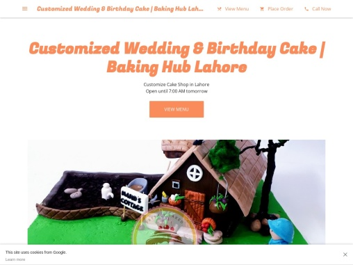 Best Customized Birthday Cake Delivery In Lahore
