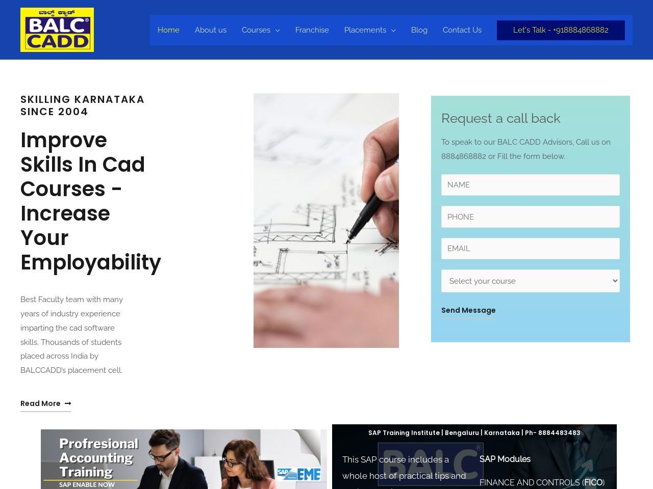 Best Civil CADD Training center in banglore