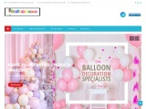 balloons delivery in Dubai, Birthday Balloons in Dubai, Balloons shop in Dubai