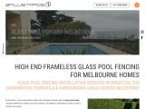 Glass Pool Fencing Hastings – Balustrade 1