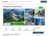 Kheerganga trek with camping 2021