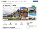 Leh Ladakh Bike Trip Packages