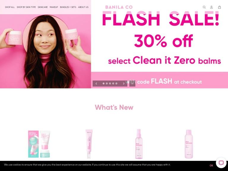 Banila Co Skincare screenshot