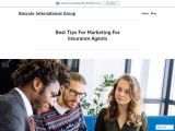 Best Tips For Marketing For Insurance Agents