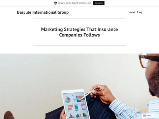 Marketing Strategies That Insurance Companies Follows
