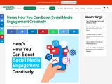 Here's How You Can Boost Social Media Engagement Creatively