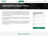 Digital Marketing Corporate Training in India | Corporate Training in Digital Marketing