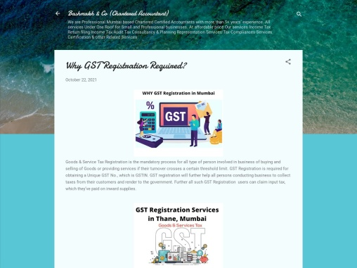 Why GST Registration Required?