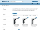 Check out our standard collection of Hansgrohe sensor taps online for sale!