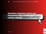 Considering a Website Redesign   BBT – Web Design Agency Auckland