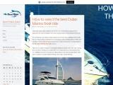 How to select the best Dubai Marina boat ride